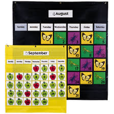 Yellow Calendar Pocket Chart Teaching With Blonde Ambition Pocket Charts Calendars And