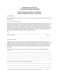 Columbia Mba Recommendation Letter Example