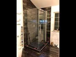 how to install a glass shower door dream line enigma x sparkle