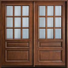 homes oak doors exterior wood doors