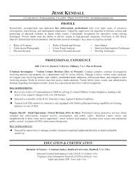 Police Officer Resume Cover Letter Police Officer Resume Samples No