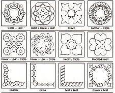 Free Hand Quilting Patterns | 10% off Printable Quilting Designs ... & Good instructions, tips and patterns. Finish with Free-motion Quilting or  Continuous Quilting Adamdwight.com