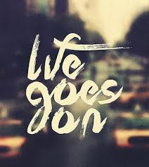 Quote On Life Interesting Life Goes On Picture Quotes