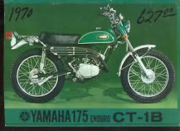 image is loading genuine original 1970 yamaha 175 ct1 b enduro