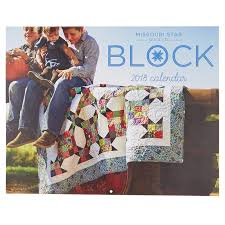 BLOCK 2018 Calendar - MSQC - Sutherland Printing — Missouri Star ... & BLOCK 2018 Calendar Adamdwight.com