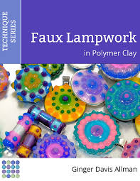 learn to make lightweight durable beads and pendants with the faux lampwork polymer clay tutorial