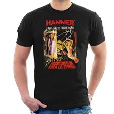 Amazon Com Hammer Frankenstein Crea La Femme Poster Mens T