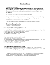 Example Of Definition Essay Topics Extended Definition Topics Coursework Example January 2019 1447