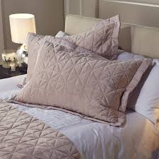 Kelly Hoppen Origami Embroidered 2 Reversible Pillow Shams - Page 1 - QVC UK