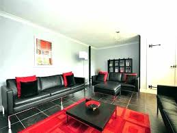 modern living room black and red. Black Red White Living Room And Modern L