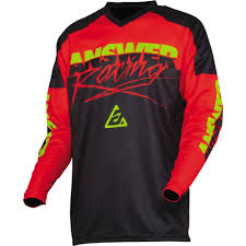 Answer Racing Syncron Pro Glo Youth Jersey Chapmoto Com