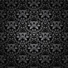 Illustration of Seamless Gothic ornamental wallpaper, floral pattern,  illustration vector art, clipart and stock vectors.