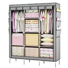 youud prevail clothes closet portable wardrobe storage organizer portable closet