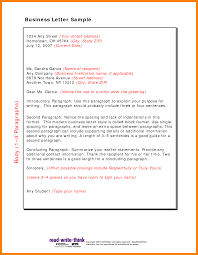 Bunch Ideas Of Examples Of Modified Block Style Business Letter