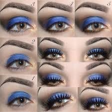 how to rock blue makeup looks blue makeup ideas tutorials
