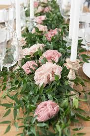 diy wedding wednesday decor 101 the fabric flower table fl table runner wedding