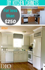 cabinets for less. Fine Less DIY Kitchen Cabinets For Less Than 25000 Industrial Farmhouse Style Decor  At Dio Home Improvements On For Less