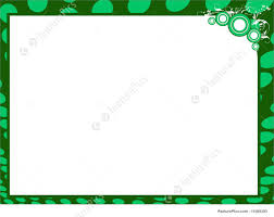 Templates Certificate Background In Green Border Stock