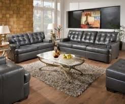 soho bonded leather living room collection