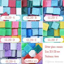 2019 200 gram 2cm square glitter mosaic loose crystal mosaic tile diy hobbies diy mosaic art material supplier glass from diymosaic 8 85 dhgate com