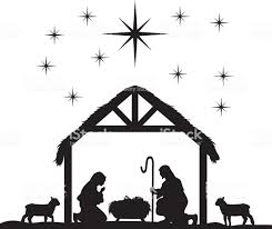 free nativity clipart silhouette. Interesting Nativity Royalty Free Nativity Scene Clip Art Vector Images Illustrations Rh  Istockphoto Com Clipart Black White On Free Nativity Clipart Silhouette A