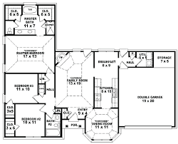 awesome single floor house plans or modern single story floor plans new excellent single story house