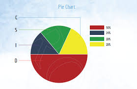 Disc Chart Disc Pie Chart Behavioral Sobriety