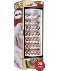 Stand Up Display Freezer HaagenDazs Ice Cream Freezers Direct Wholesale FoodsDirect 32