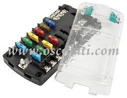 marine fuse boxes panel fuse holders midi fuse holder polycarbonate fuse holder box transparent snap cover silver plated phosphor bronze connections for 12 standards blade fuses