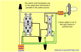 wiring diagram switch outlet combo wiring diagrams and schematics how to wire a switched outlet wiring diagrams