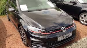 volkswagen gti 2017 black. vw golf 7 gti facelift 2.0 tsi dsg deep black perleffekt 2017 ! volkswagen gti
