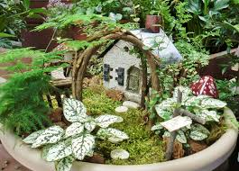 Small Picture miniature fairy gardens The new hot rage in mini gardening