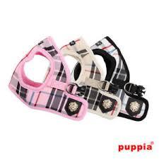 Puppia Soft Dog Harness Sizing Chart Details About Puppia Dog Puppy Harness Vest Junior Pink Black Beige S M L Xl