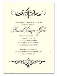 Formal Christmas Party Invitations Financial Holiday Party Invitations On Seeded Paper