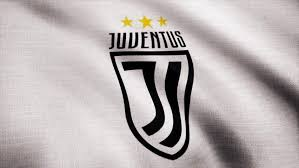 fc juventus flag is waving on transpa background close up of waving flag with fc juventus football club logo seamless loop editorial animation