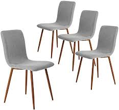 Dining Chairs Kitchen Chairs Set of 4 Modern Dining ... - Amazon.com