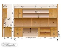 office desk plan. Figure A: Front And Side View Office Desk Plan V