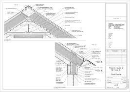 more passive house basement wall and roof details