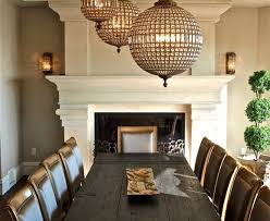 glamorous restoration hardware lighting convention other metro traditional dining room decorating ideas with coffered ceiling dining