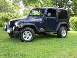 2006 Jeep Wrangler Sport 4x4 in Midnight Blue Pearl - 710805 ...