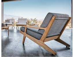 Gloster Bay Collection Teak Lounge Chair