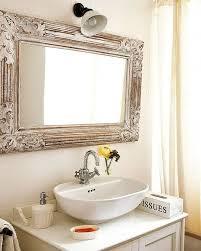 Bathroom: Wood Framed Lowes Bathroom Mirror In Black For Bathroom ...