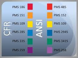 Ansi Z535 Color Chart Ansi Z535 1 Safety Colors New Directions Ppt Video Online