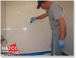 sealing shower grout