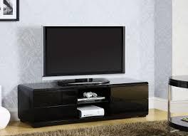 cerro black contemporary tv stand  la furniture center