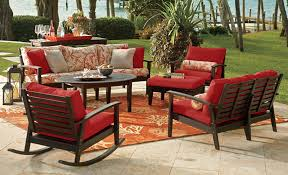 Red Patio Cushions