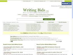 top sites for lance writers com image 2 writingbids com screenshot