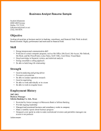 Banking Consultant Sample Resume High School Resume For Jobs