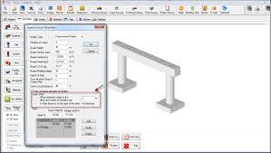Txdot Bent Cap Design Example Straddle Bent Deck Offset Between Center Of The Deck And