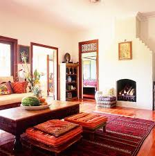 traditional indian themed living room